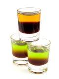 Cocktail-Sammlung - Schabe und Scheiße auf Gras Lizenzfreies Stockbild
