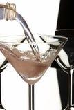 Cocktail scorrente fotografie stock