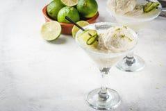 Cocktail sich hin- und herbewegender Margarita Stockbild