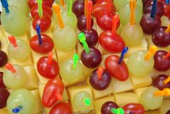 Cocktail snack Stock Photo
