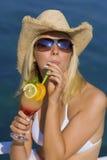 Cocktail-Spaß lizenzfreies stockfoto