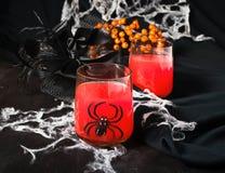 Cocktail spettrali di Halloween per il partito Fotografia Stock