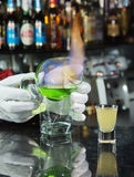 Cocktail splamenem Stock Images