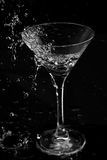 Cocktail splash Royalty Free Stock Photography