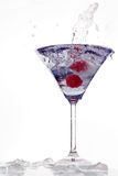 Cocktail splash Royalty Free Stock Photos
