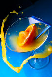 Cocktail with splashes Stock Photo