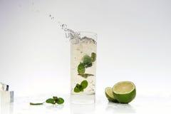 Cocktail splashing Royalty Free Stock Image