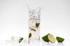 Cocktail splashing Royalty Free Stock Images