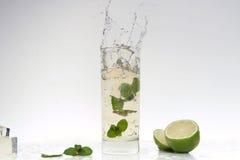 Cocktail splashing Royalty Free Stock Photography