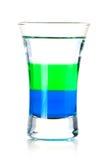 Cocktail stratificato del colpo Immagine Stock