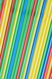 Cocktail straws Royalty Free Stock Images