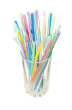 Cocktail straws Royalty Free Stock Photography