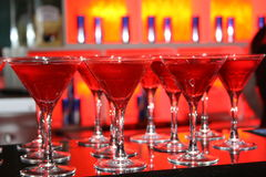 Cocktail-Stunde Lizenzfreie Stockbilder