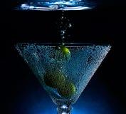 Cocktail subaquático Imagem de Stock Royalty Free