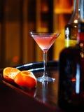 Cocktail sulla barra fotografie stock libere da diritti