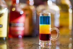 Cocktail sulla barra Fotografia Stock Libera da Diritti