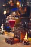 Cocktail sulla barra Immagini Stock