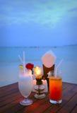 Cocktail sulla spiaggia Immagine Stock Libera da Diritti