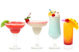 Cocktail - summer party set Royalty Free Stock Images