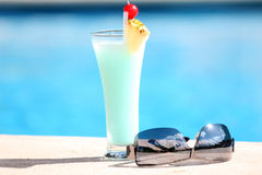 Cocktail in the sun Stock Image