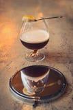 Cocktail sur la barre Images stock