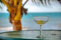 Cocktail sur la plage Image libre de droits