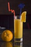 Cocktail sur le bar Image libre de droits