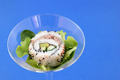 Cocktail sushi Royalty Free Stock Photography