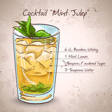 Cocktail-tadellose Medizin stock abbildung