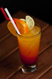 Cocktail - tequila sunrise Royalty Free Stock Image