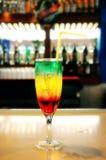 Cocktail Three-color Foto de Stock
