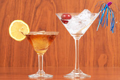 Cocktail time Stock Images