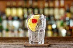 Cocktail Tom Collins lizenzfreies stockfoto