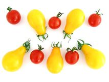 Cocktail-Tomaten stockbild