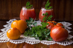 Cocktail-Tomaten Stockfotografie