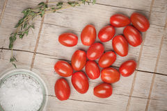 Cocktail tomatoes Royalty Free Stock Photography