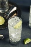 Cocktail tonique de Highball de vodka alcoolique images stock