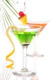 Cocktail tropicais de Martini do verão com vodca Foto de Stock Royalty Free