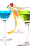 Cocktail tropicais de Martini do verão com vodca Fotos de Stock Royalty Free