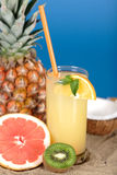 cocktail tropical photographie stock