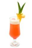 Cocktail tropicale isolato Immagini Stock Libere da Diritti