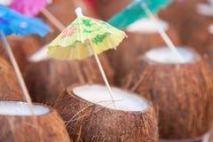 Cocktail tropicali Fotografia Stock