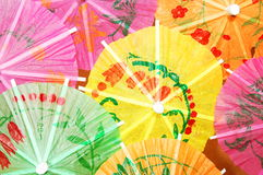 Cocktail umbrella Stock Photography
