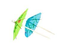 Cocktail umbrella Stock Images