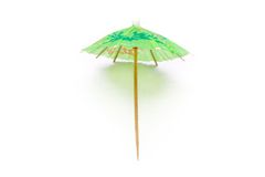 Cocktail umbrella Royalty Free Stock Photography
