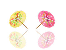 Cocktail umbrella Royalty Free Stock Photo