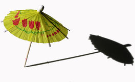 Cocktail umbrella Stock Images