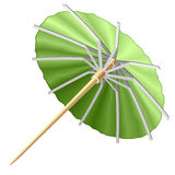 Cocktail umbrella. Vector illustration of a cocktail umbrella Stock Photography