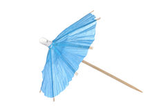 Cocktail umbrella isolated on a white background Stock Photo