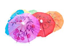 Cocktail Umbrella Series 02 Royalty Free Stock Image